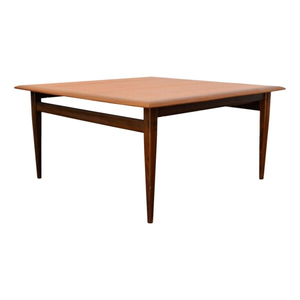 Vintage Danish style square Coffee Table