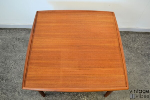Danish Modern Coffee Table by Grete Jalk - top