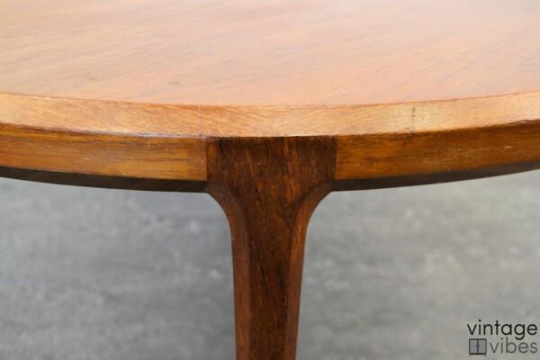 Mid-century Modern Coffee Table by Johannes Andersen - detail side