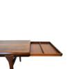 Vintage Johannes Andersen Brazilian rosewood salontafel (detail)