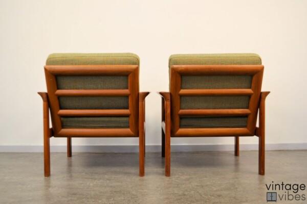 Sven Ellekaer Deens design fauteuils (detail)