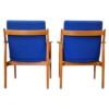 Arne Vodder, model 341 teak stoelen (detail)