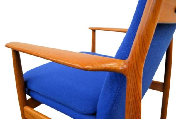Arne Vodder, model 341 teak stoel (detail)