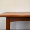 Danish Modern Teak Dining Table - detail finishing
