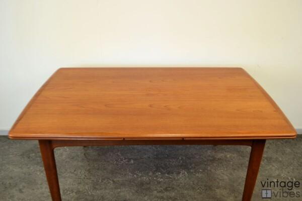 Danish Modern Teak Dining Table - top