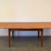 Danish Modern Teak Dining Table - extended