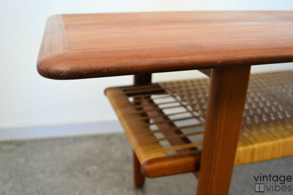 Danish Modern Kurt Østervig Coffee Table - detail top