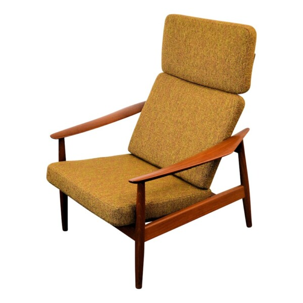 Vintage Arne Vodder FD164 Easy Chair - side