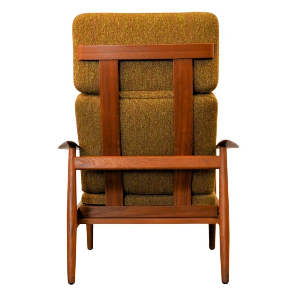 Vintage Arne Vodder FD164 Easy Chair - back
