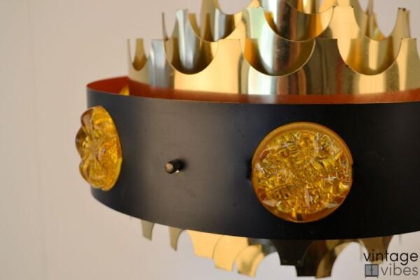 Vintage Scandinavische hanglamp