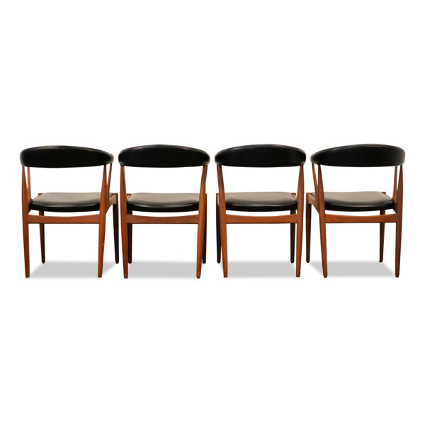 Johannes Andersen Dining Chairs - back