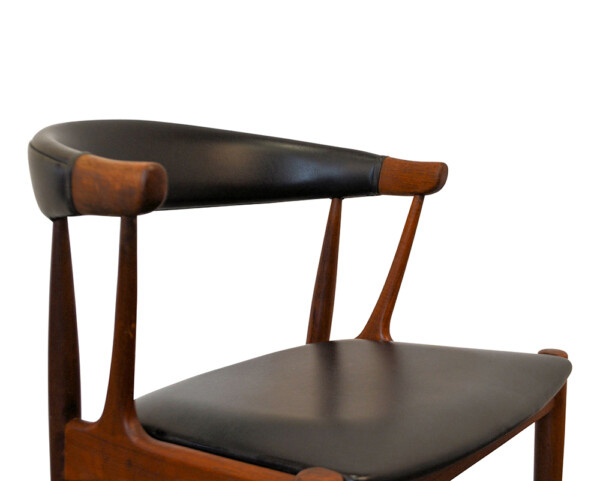 Johannes Andersen Dining Chairs - backrest and seat