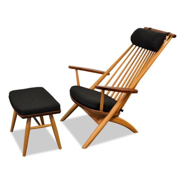 Tateishi Shoiji Lounge Chair + Ottoman