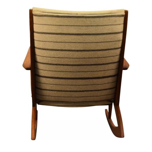 Vintage Holger Georg Jensen Model 97 Rocking Chair - front