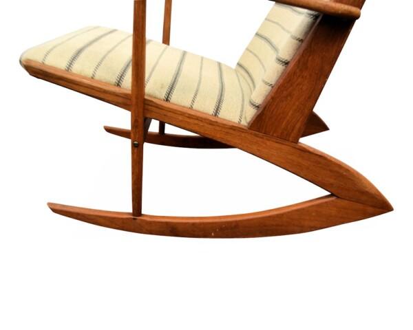 Vintage Holger Georg Jensen Model 97 Rocking Chair - detail frame
