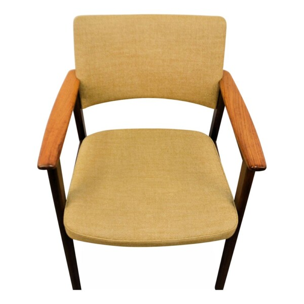Erik Kirkegaard palisander armleuning stoel (detail)
