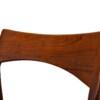 Vintage stoelen van Henning Kjaernulf (detail)