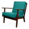 Vintage Teak Lounge Chair by Aage Pedersen