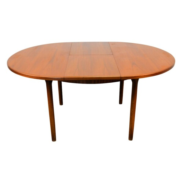 Vintage Midcentury Modern G-Plan Dining Table - extended