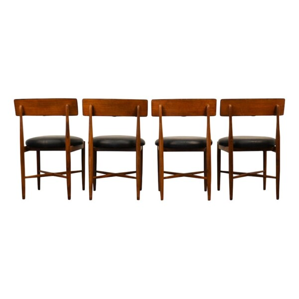 Midcentury Modern G-Plan Dining Chairs - back