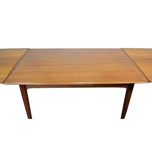 Danish Modern Svend Aage Madsen Dining Table - extended