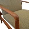 Vintage Søren Ladefoged Easy Chair & ottoman