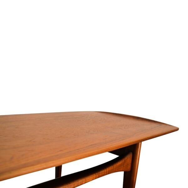 Vintage Tove & Edvard Kindt-Larsen teak salontafel