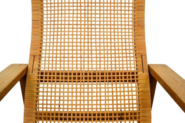 Vintage Børge MVintage Børge Mogensen eiken fauteuil - detailogensen Model 2254 Easy Chair - detail frame