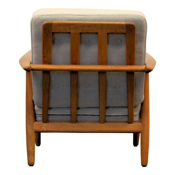 """Hans J. Wegner Lounge Chair Model GE-240 """"Cigar"""" - back"""