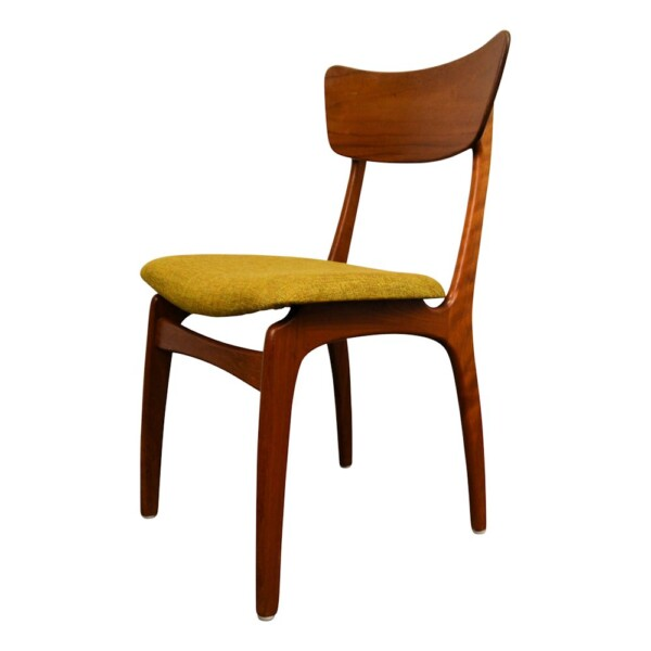 Vintage Deense teak stoel