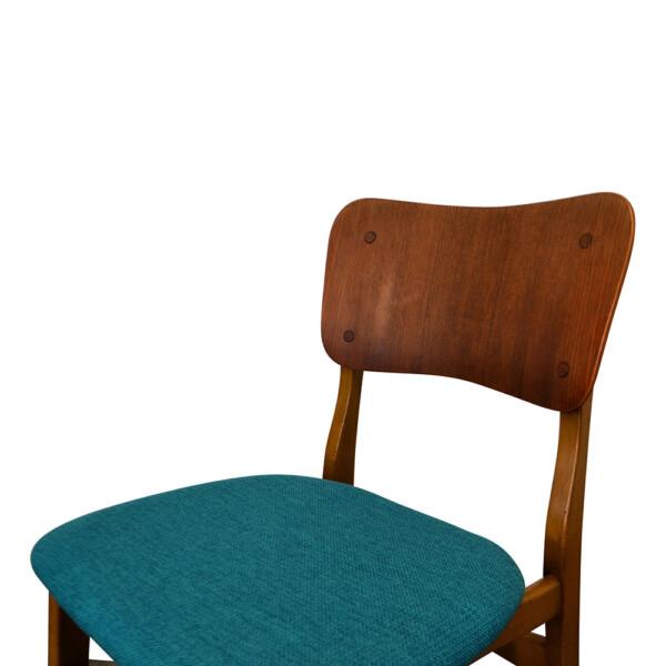 Vintage Danish Boltinge stoelen (detail)