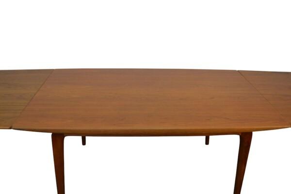 Vintage Model #371 Boomerang Alfred Christensen Dining Table - detail top