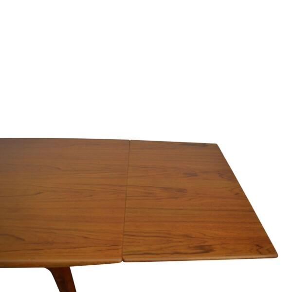 "Alfred Christensen ""Boomerang"" teak tafel (detail)"