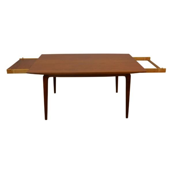 "Alfred Christensen ""Boomerang"" teak tafel"