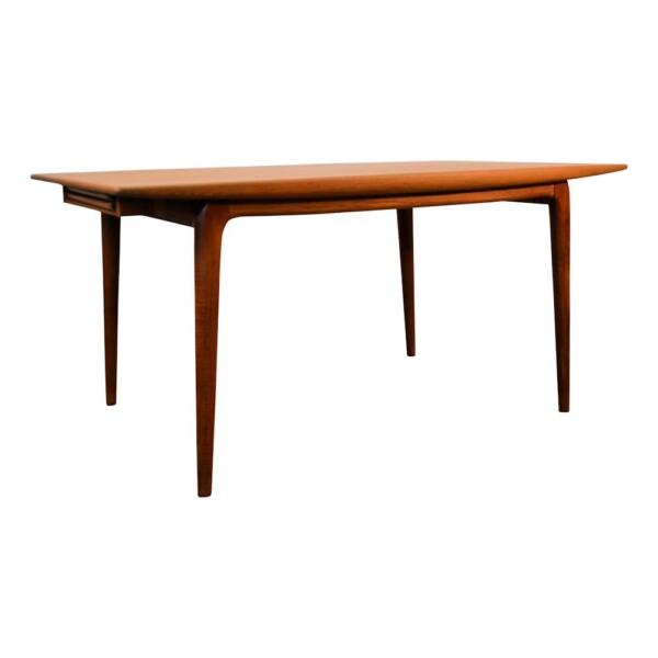 Vintage Model #371 Alfred Christensen Dining Table - side