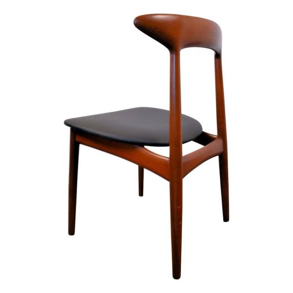 Vintage Dining Chairs Designed by Kurt Østervig - back