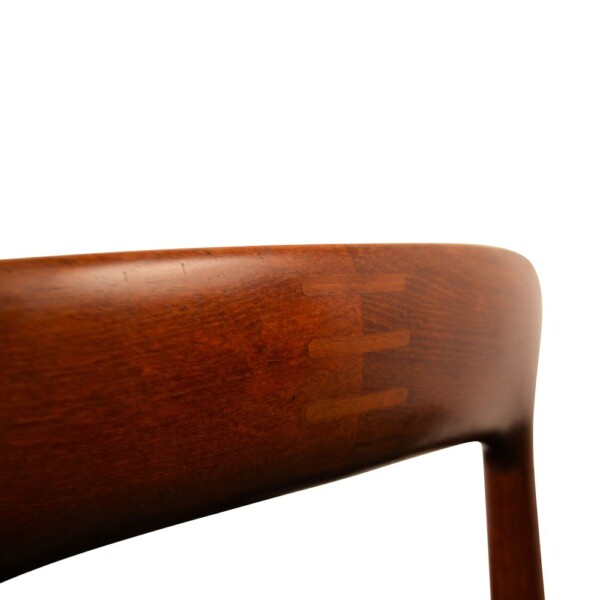 Vintage Dining Chairs Designed by Kurt Østervig - detail backrest inlay
