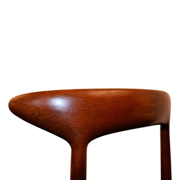 Vintage Dining Chairs Designed by Kurt Østervig - detail backrest