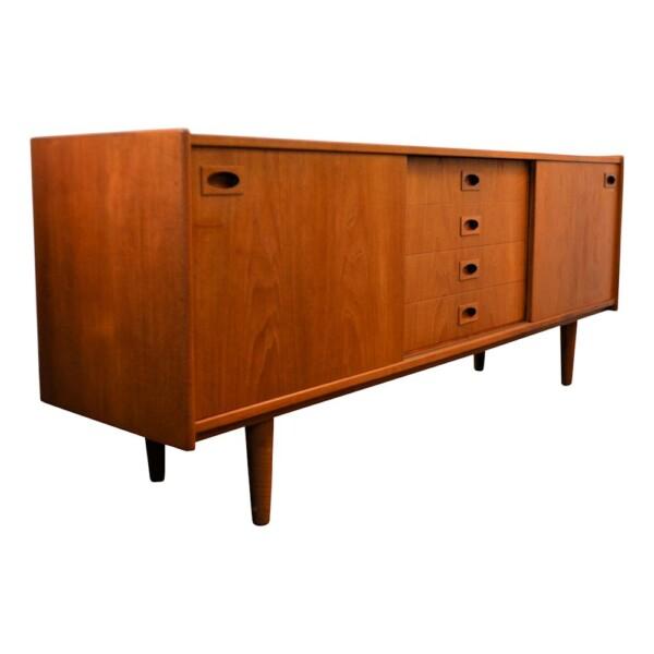 Vintage Teak Mogens Kold Sideboard - side