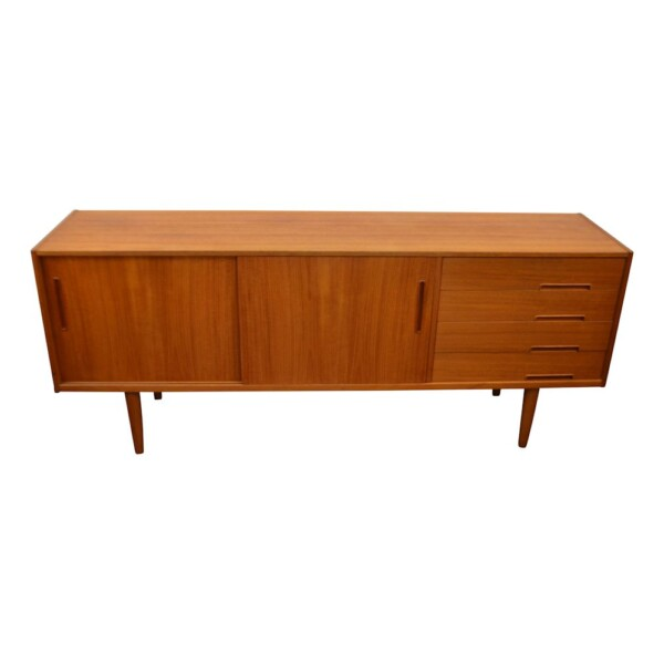 Vintage Nils Jonsson Model Trento Sideboard - front and top
