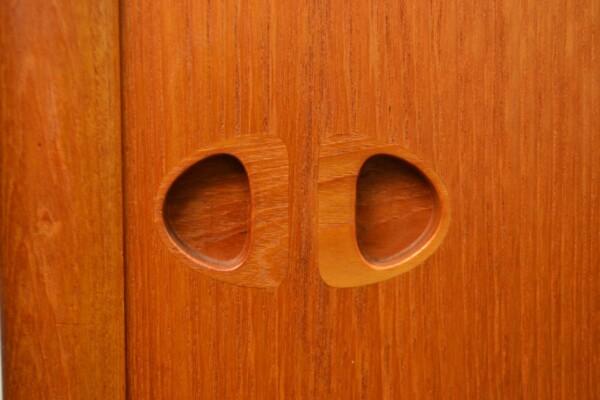 Vintage Bramin Sideboard by H.W. Klein - door handles