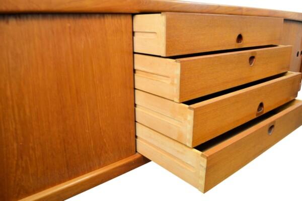 Vintage Bramin Sideboard by H.W. Klein - drawers