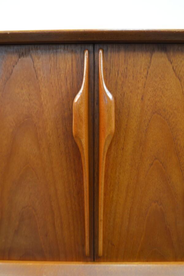 Vintage Teak McIntosh& Co Style Teak Sideboard - door handles
