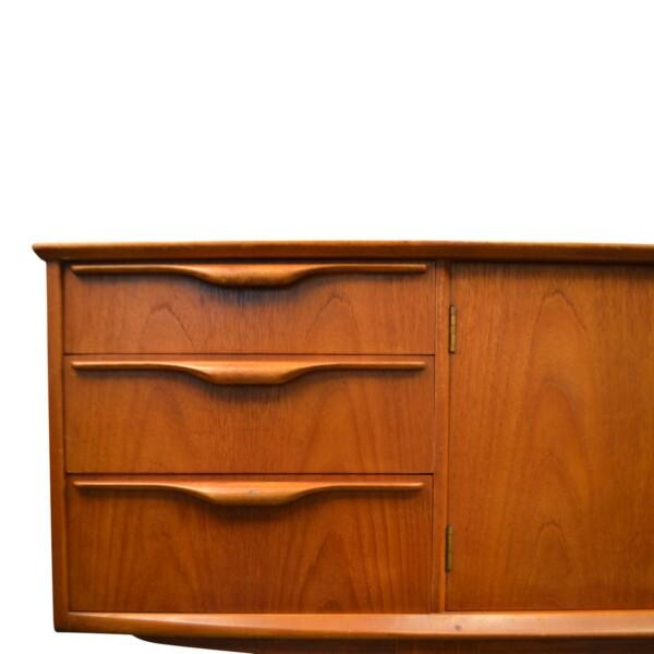 Vintage Teak McIntosh& Co Style Teak Sideboard - drawers detail