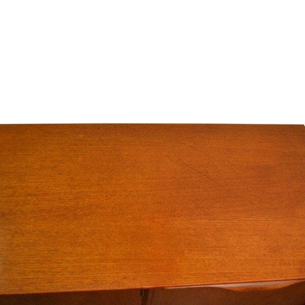 Vintage Teak McIntosh& Co Style Teak Sideboard - top