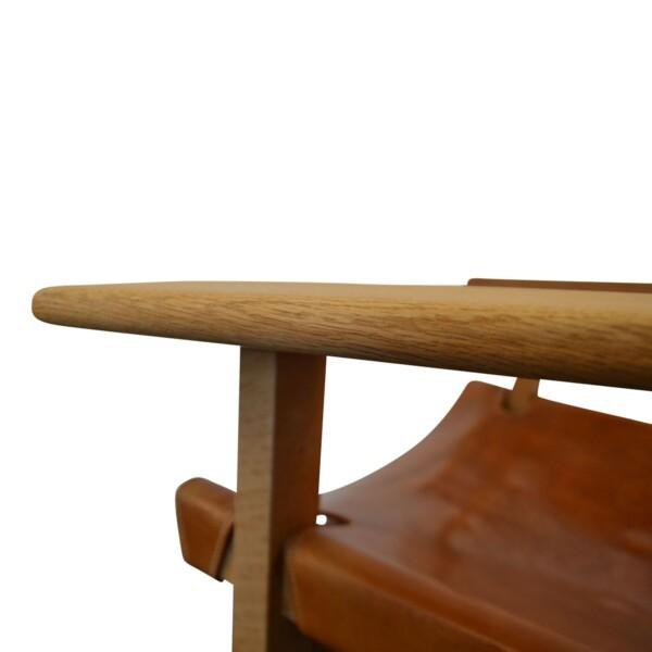 Vintage Spanish Chairs by Børge Mogensen - detail