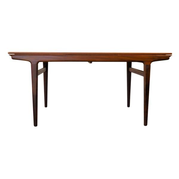 Vintage Teak Dining Table by Johannes Andersen - front