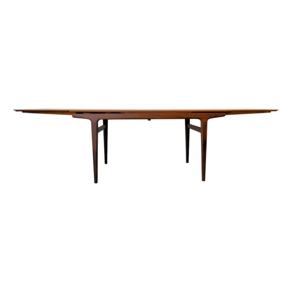 Vintage Teak Dining Table by Johannes Andersen - extended