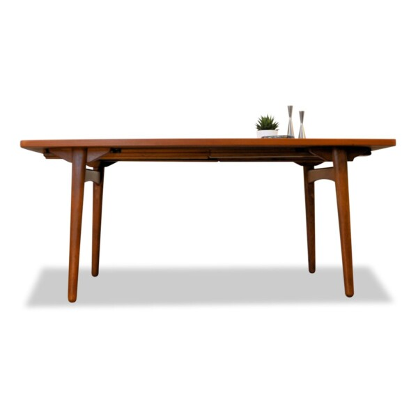 Vintage Danish Dining Table by L. Chr. Larsen & Son - front