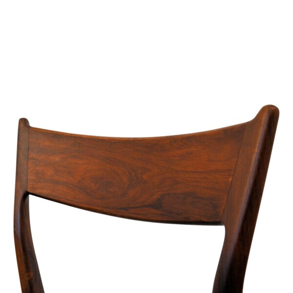 Vintage Rosewood Dining Chairs - backrest